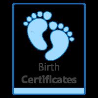 Colombia birth certificate (registro civil)