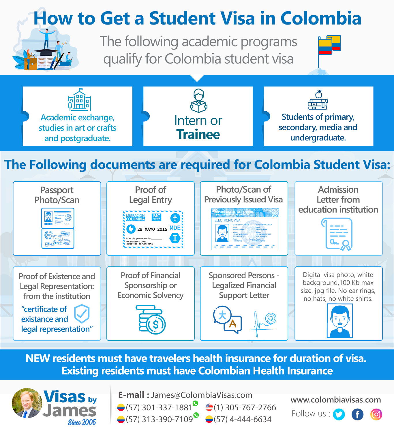 Student Visa In Colombia