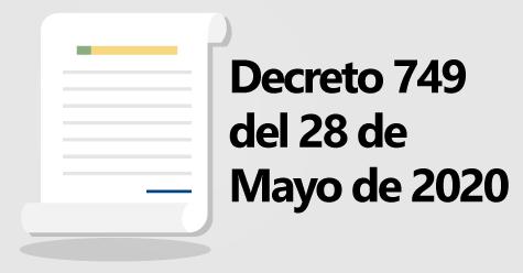 Decreto 749
