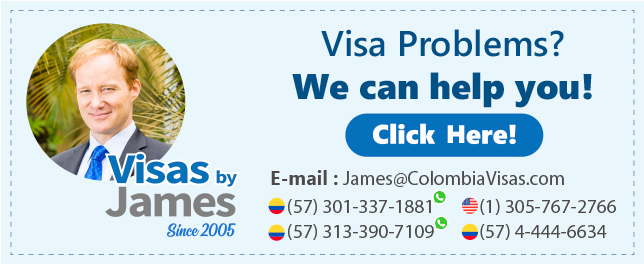 Colombian Visas by James Lindzey